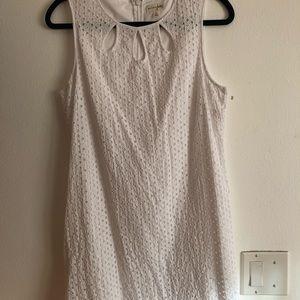 Dress.  White.